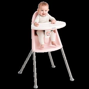Kinderstoel Pastelroze Grijs - BABYBJÖRN