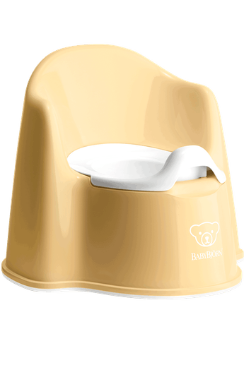 Orinal Sillón Amarillo Pastel Blanco - BABYBJÖRN