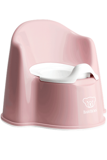 Orinal Sillón Rosa Pastel Blanco - BABYBJÖRN