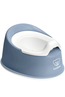 Orinal Smart Azul Profundo Blanco - BABYBJÖRN