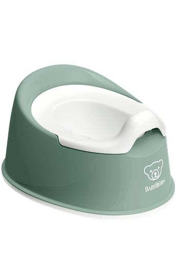 Orinal Smart Verde Profundo Blanco - BABYBJÖRN