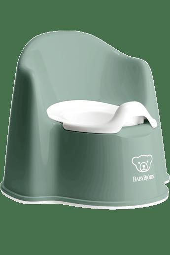 Potty Chair Deep Green/White - BABYBJÖRN