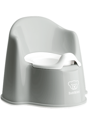 Potty Chair Powder Grey White - BABYBJÖRN