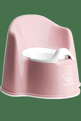 Potty Chair Powder Pink/White - BABYBJÖRN