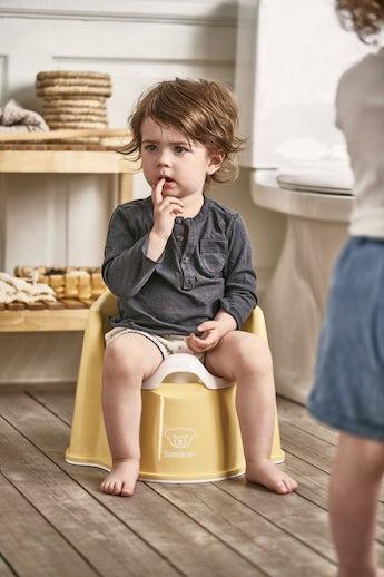 Potty Chair Powder yellow/White - BABYBJÖRN
