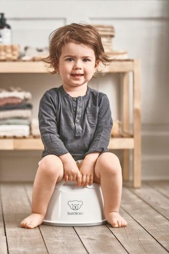 Smart Potta Vit/Grå - BABYBJÖRN