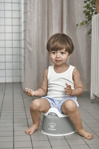Smart Potty Grey White - BABYBJÖRN
