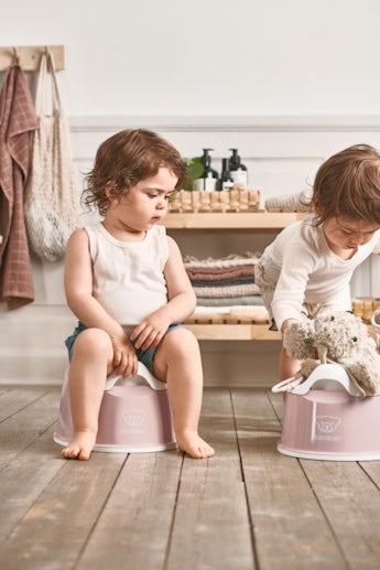 Smart Potty Powder Pink White - BABYBJÖRN