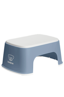 Step Stool Deep Blue White - BABYBJÖRN