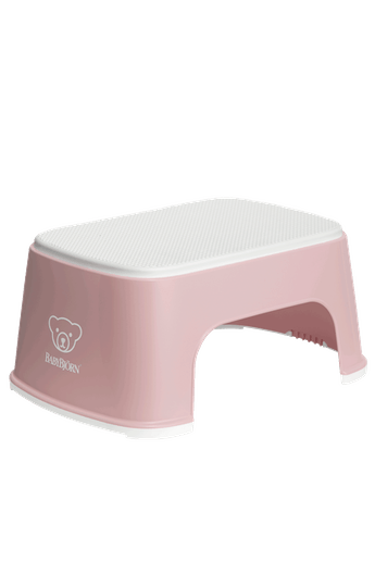 Step Stool Powder Pink White - BABYBJÖRN