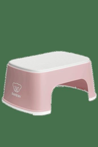 Step Stool Powder Pink White - BABYBJÖRN