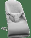 Wipstoeltje Litchgrijs 3D Jersey - BABYBJÖRN