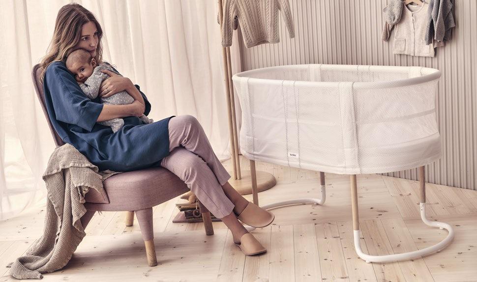 Baby Crib White - BABYBJÖRN