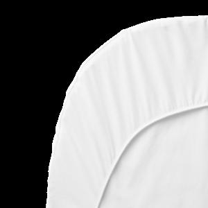 Matrasovertrek voor Het Ledikant Wit Organic