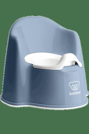 Pot Fauteuil Bleu Profond/Blanc - BABYBJÖRN