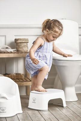 Sgabello per Bambini Bianco Grigio - BABYBJÖRN