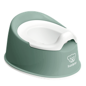 Smart potty in deep green - BABYBJÖRN