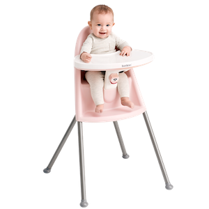 High Chair Powder Pink Grey - BABYBJÖRN