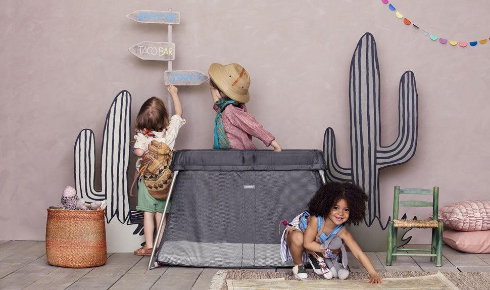 Travel Crib Easy Go Anthracite - BABYBJÖRN