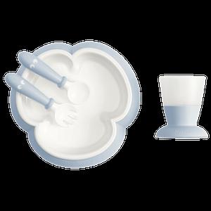 Baby Feeding Set Powder Blue - BABYBJÖRN