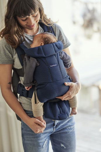 Baby Carrier Move Navy Blue 3D Mesh - BABYBJÖRN