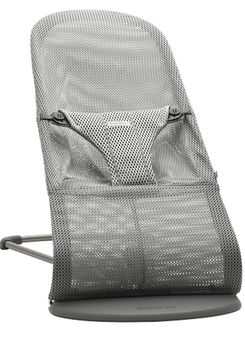 Bouncer Bliss Grey Mesh - BABYBJÖRN
