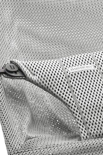 Zusätzlicher Stoffsitz für Babywippe Bliss Grau in luftigem Mesh - BABYBJÖRN