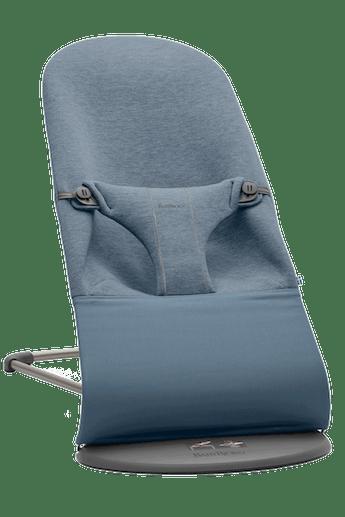 Hamaca Bliss Azul Grisaceo 3D Jersey - BABYBJÖRN - BABYBJÖRN