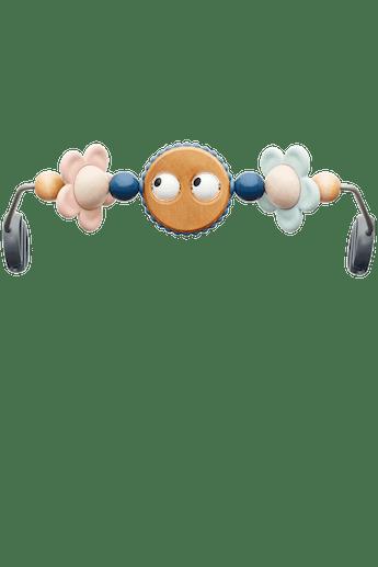 Juguete para hamaca Ojitos traviesos en color pastel - BABYBJÖRN