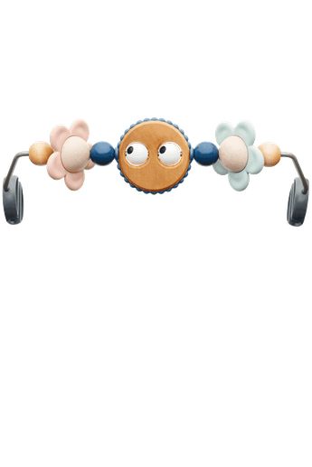 Toy for bouncer Googly Eyes pastels - BABYBJÖRN