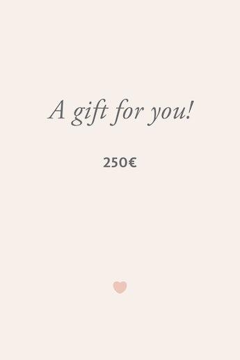Digitaler Geschenkgutschein