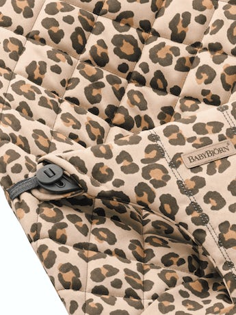 Extra Fabric Seat for Bouncer Bliss Beige/Leopard Cotton - BABYBJÖRN