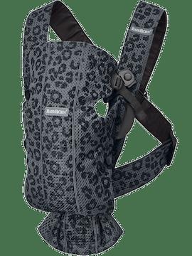 Marsupio Mini Antracite/Leopardo Mesh - BABYBJÖRN