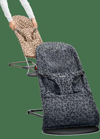 Transat Bliss en Mesh avec housse supplementaire en Coton Leopard - BABYBJÖRN