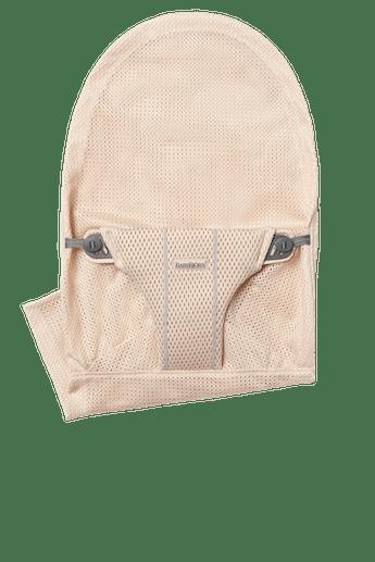 Zusätzlicher Stoffsitz für Babywippe Bliss in Perlmuttrosa Mesh - BABYBJÖRN