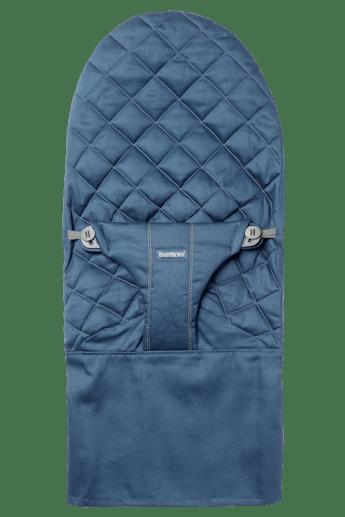 Zusätzlicher Stoffsitz für Babywippe Bliss in Mitternachtblauer Baumwolle - BABYBJÖRN