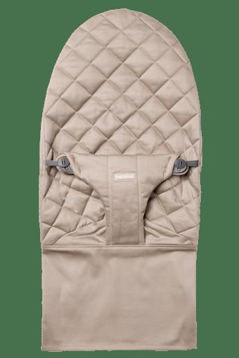 Zusätzlicher Stoffsitz für Babywippe Bliss in Sandgrauer Baumwolle - BABYBJÖRN