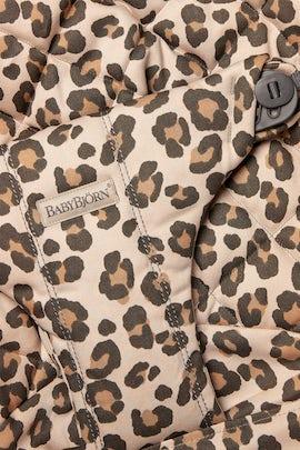 Zusätzlicher Stoffsitz für Babywippe Bliss in Beige/Leopard Baumwolle - BABYBJÖRN