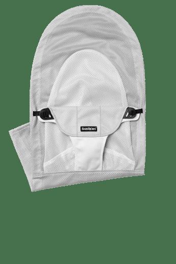 Zusatzlicher Stoffsitz fur die Babywippe Balance Soft Silber Weiss Mesh - BABYBJÖRN