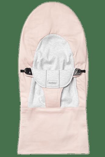 Zusätzlicher Stoffsitz für die Babywippe Balance Soft Hellrosa Grau Jersey - BABYBJÖRN