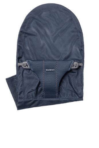 Fabric Seat for Bouncer Bliss in Navy Blue Mesh - BABYBJÖRN