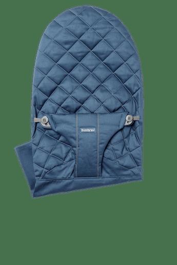 Asiento de tela Adicional para Hamaca Bliss en Azul medianoche Cotton - BABYBJÖRN