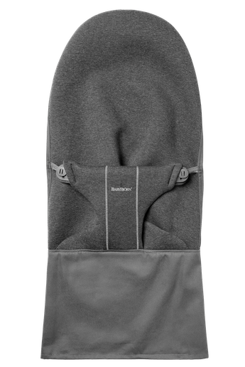 Asiento de tela Adicional para Hamaca Bliss en Gris Carbón 3D Jersey - BABYBJÖRN