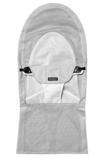 Asiento Tela Adicional Hamaca Balance Soft Blanco Plata Mesh - BABYBJÖRN