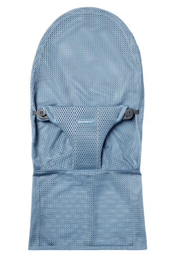 Housse pour transat Bliss en Bleu Ardoise Mesh - BABYBJÖRN