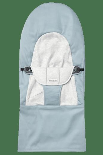 Housse pour Transat Balance Soft Bleu Gris Cotton Jersey - BABYBJÖRN