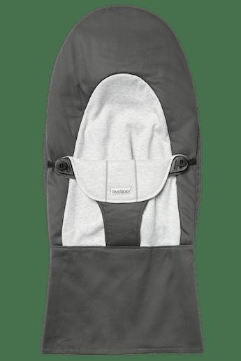 Housse pour Transat Balance Soft Gris Fonce Gris Cotton Jersey - BABYBJÖRN