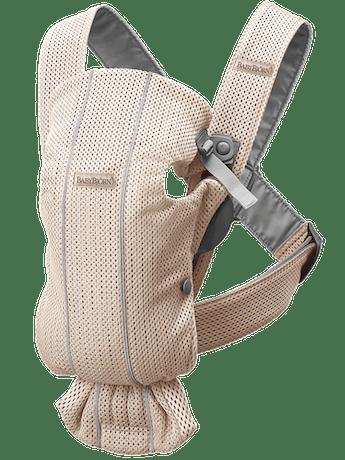 Porte-bébé Mini – Soft Selection - Rose Nacré en 3D Mesh -BABYBJÖRN