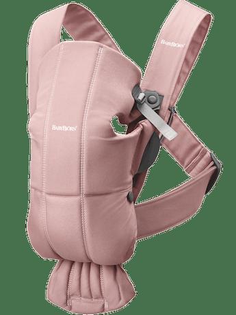 Porte-bébé Mini Vieux Rose Coton - BABYBJÖRN