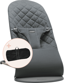 Bouncer bundle with transport bag for shorter and longer trips
